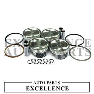 EP Forged Pistons +Rings Kit for EJ25 EJ255 EJ257 WRX STI Impreza Turbo CR=9.0:1