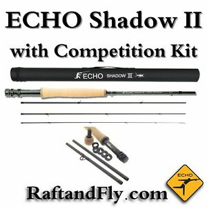 Echo Shadow II 3wt with Competition Kit Inclluded Nymph Fly Rod - Free Shipping