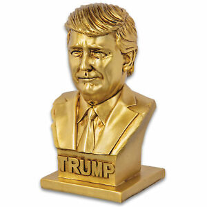 Historical Bust COLLECTIBLE PRESIDENT DONALD TRUMP Statue Sculpture Figure