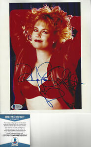 Actress Melanie Griffith  autographed 8x10 color photo  Beckett Certified