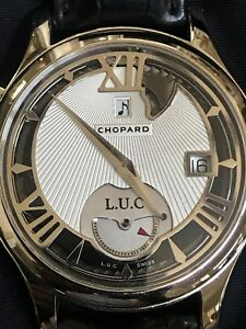 Chopard Strike One White Gold Watch Limited Edition of 100 original box
