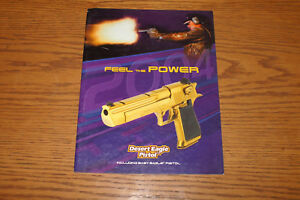 2003 DESERT EAGLE Magnum Research Firearms Catalog 24 pages Baby Eagle 44 50cal