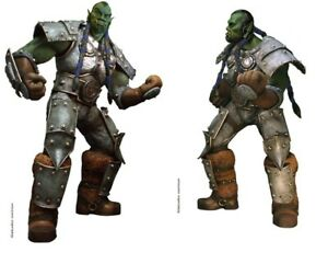 WARCRAFT III - THRALL ORC * 1:1 SCALE PROP FULL-LIFE-SIZE FIGURE * OXMOX MUCKLE