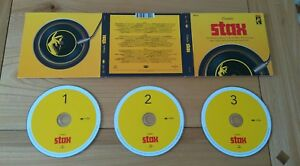 Classic Stax 2016 Euro 3CD Set Isaac Hayes Otis Redding Booker T Funk Soul R