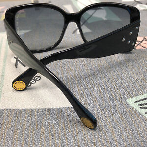 Vintage 1990s MARC BY Marc Jacobs Designer Black Sunglasses Square Frame