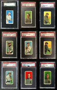 1909-11 T206 Baseball Partial Complete Set VG