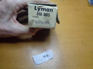 Lyman 310 Hand Reloading Tong Tool Dies & Also Fits Ideal For 7mm Remington Mag