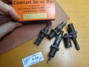 Lyman 310 Hand Reloading Tong Tool Dies & Also Fits Ideal For 222 Remington
