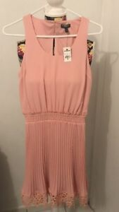 Women's Express Beige Cocktail  Dress. Size XS