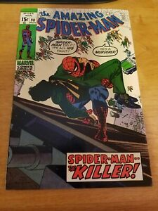 The Amazing Spider-Man #90 (1970 Marvel Comics) Romita Death of George Stacy