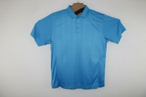 CUTTER & BUCK GOLF POLO Extra Large Zeus Embroidered CB DRYTEC Wicking XL