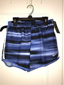 NWT Nike Girl's  Dri-Fit  Running Shorts-Pink Size  LARGE BLUE