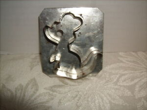 Vintage Metal Cookie Cutter Stamped C R Messner Denver PA 3