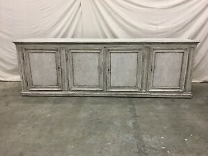 Large 18th C French Four Door Enfilade Sideboard