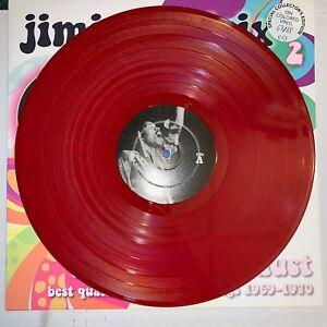 JIMI HENDRIX, DIGGIN IN THE DUST VOL 2, 180G RED VINYL LP, NUMBERED LMTD EDTN