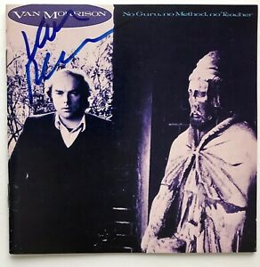Van Morrison signed cd no guru no method no teacher not album epperson loa
