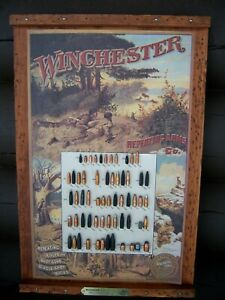 Vintage 1997 Winchester Rifle Bullet Board - Limited Edition
