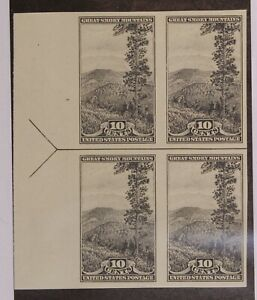 Scott 765 10 Cents Smokey Mountains NGAI Left Arrow Block SCV $20.00