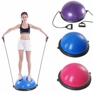 W Resistance Yoga Fitness Balance Exercise Trainer ball Bands & Pump Hot Sale