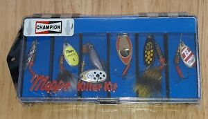 CHAMPION SPARK PLUGS PROMO Mepps Killer Kit Set of 6 Fishing Lures #2 SEALED NEW