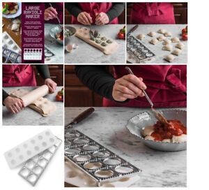 Bellemain Ravioli Maker Kitchenaid Attachment With Press Italy Accessories Kit