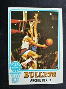 1973-74 Topps Basketball Card # 15 Archie Clark - Baltimore Bullets