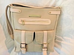Damsel In Defense Leather Purse Concealed Pocket  Adjustable Cross Body Strap