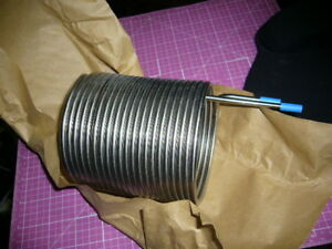 Stainless Steel Liquid Heating Cooling Tubing Coil 316 ChillerHeat Exchanger