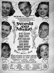 8233-1 June Allyson Perry Como and cast film Words and Music 8233-1 8233-1