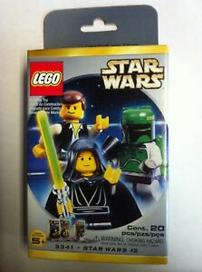 Lego Star Wars #3341 Minifig 3 Pack Luke Han Boba Fett NEW SEALED