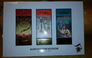 Overwatch SDCC 2018 Exclusive Blizzard World park tickets set lithograph  $125.00