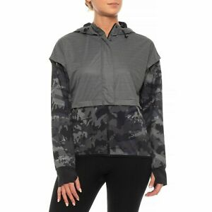 $100 Under Armour Gore Windstopper Hoodie Size Small Women's Camo 1317917 001 $14.99