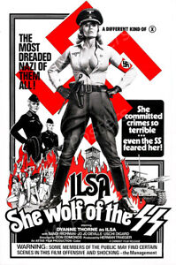 Posters USA Ilsa She Wolf of the SS Movie Poster Glossy Finish MCP837