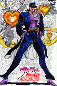 Posters USA Jojo#x27;s Bizarre Adventure TV Show Poster Glossy Finish MCP887 $16.95