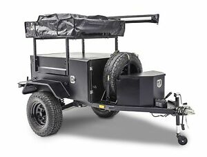 Smittybilt Scout Utility Trailer Includes TiresWheels Receiver wBall Couplers
