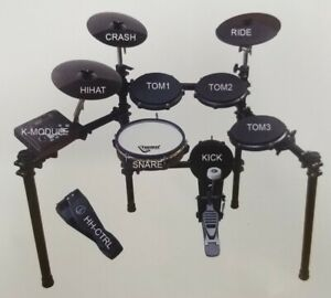 8 Piece DIGITAL DRUM SET with STAND Electronic Kit Quiet Mesh Rubber Heads $349.00