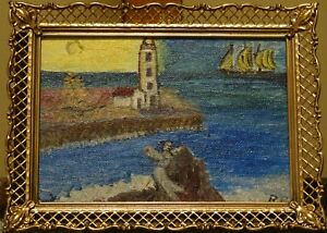 quot;Lighthousequot; Painting by Rosemary Pierce $45.00