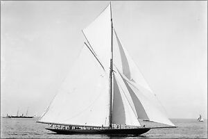 Poster Many Sizes; Valkyrie Ii Yacht 1893 $24.03