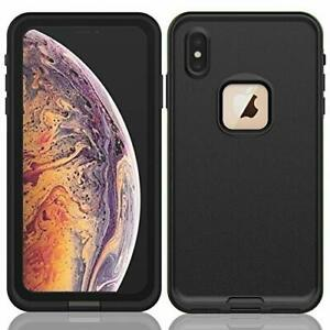 For Apple iPhone XR XS Max Waterproof Case Cover w Built-in Screen Protector X