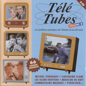 Various Artists - TELE TUBES vol. 3. 2 CD set [Import; French Television]