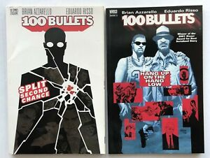 100 BULLETS Split Second Chance & Hang Up on the Hang Low - 2 TPBs - Azzarello