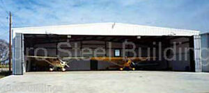 DuroBEAM Steel 90x90x18 Metal Building Airplane & Boat 60' Hanger Opening DiRECT