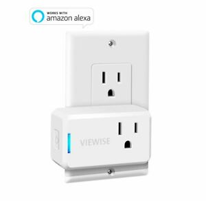 VIEWISE Smart Plug Mini Wi-Fi Switch Outlet Socket No Hub Required