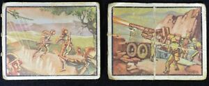 1950 Freedom's War #63 Closer to Action #65 Howitzer lot