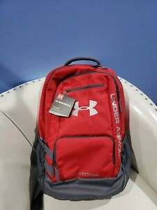 Under Armour Hustle II Backpack-  Red