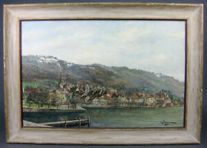 quot;DUTCH SEASCAPEquot; BY LISTED ANTONIUS TIMMERMANS ANTIQUE SIGNED OIL PAINTING. $170.00