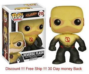 Funko Pop Tv: The Flash-Reverse Flash Action Figure #215