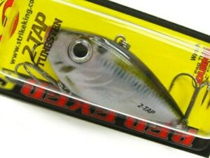 Strike King Natural Shad Red Eye Shad Tungsten 2 Tap 12 Oz Lipless Fishing Lure