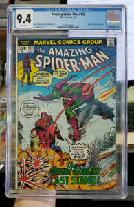 THE AMAZING SPIDER-MAN #122 - CGC Grade 9.4 - Death of the GREEN GOBLIN!