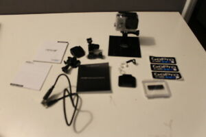 GoPro HERO 3+ Silver Edition cases and much more.  Never used! CC